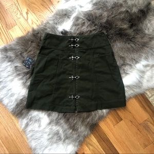 Nasty Gal Khaki Skirt - NWT - size XS